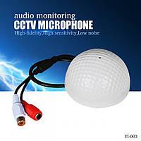 Мікрофон (гольф) для систем безпеки IP-камер Ruscus мікрофон для камери, мікрофон-гольф