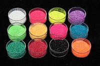 (Цена за 12шт) Набор глиттера, мелкий, вес каждого цвета по 5 г, цвета ассорти, глиттер для рукоделия, товары