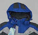Детская зимняя куртка Snowboarding серо-голубая (QuadriFoglio, Польша), фото 2