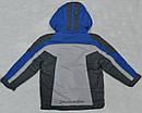 Детская зимняя куртка Snowboarding серо-голубая (QuadriFoglio, Польша), фото 5