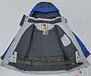Детская зимняя куртка Snowboarding серо-голубая (QuadriFoglio, Польша), фото 6