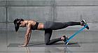 Набор фитнес-резинок Eronstyle 5 шт и мешочек для хранения | Эспандер тренажер, фото 4