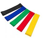 Набор фитнес-резинок Eronstyle 5 шт и мешочек для хранения | Эспандер тренажер, фото 3