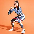 Набор фитнес-резинок Eronstyle 5 шт и мешочек для хранения | Эспандер тренажер, фото 2
