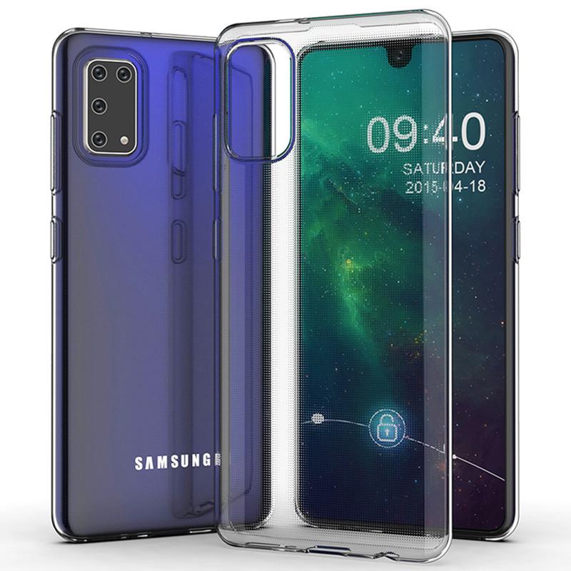TPU чехол Epic Transparent 1,0mm для Samsung Galaxy A41