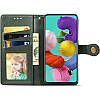 Кожаный чехол книжка GETMAN Gallant (PU) для Samsung Galaxy A71, фото 2