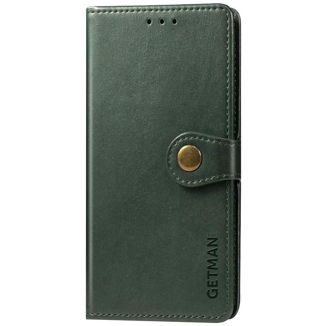 Кожаный чехол книжка GETMAN Gallant (PU) для Samsung Galaxy A01