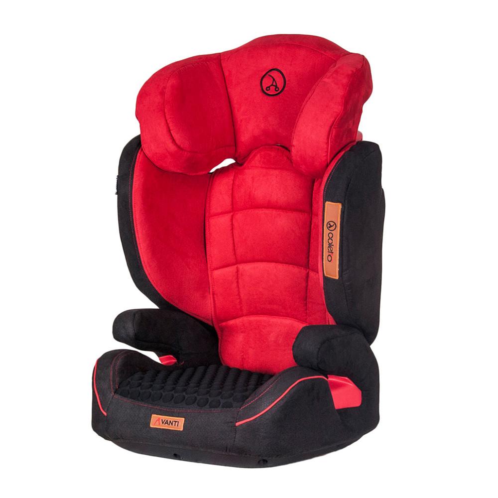 Детское автокресло Coletto Avanti Isofix Red (15-36 кг) (Колетто Аванти, Польша)