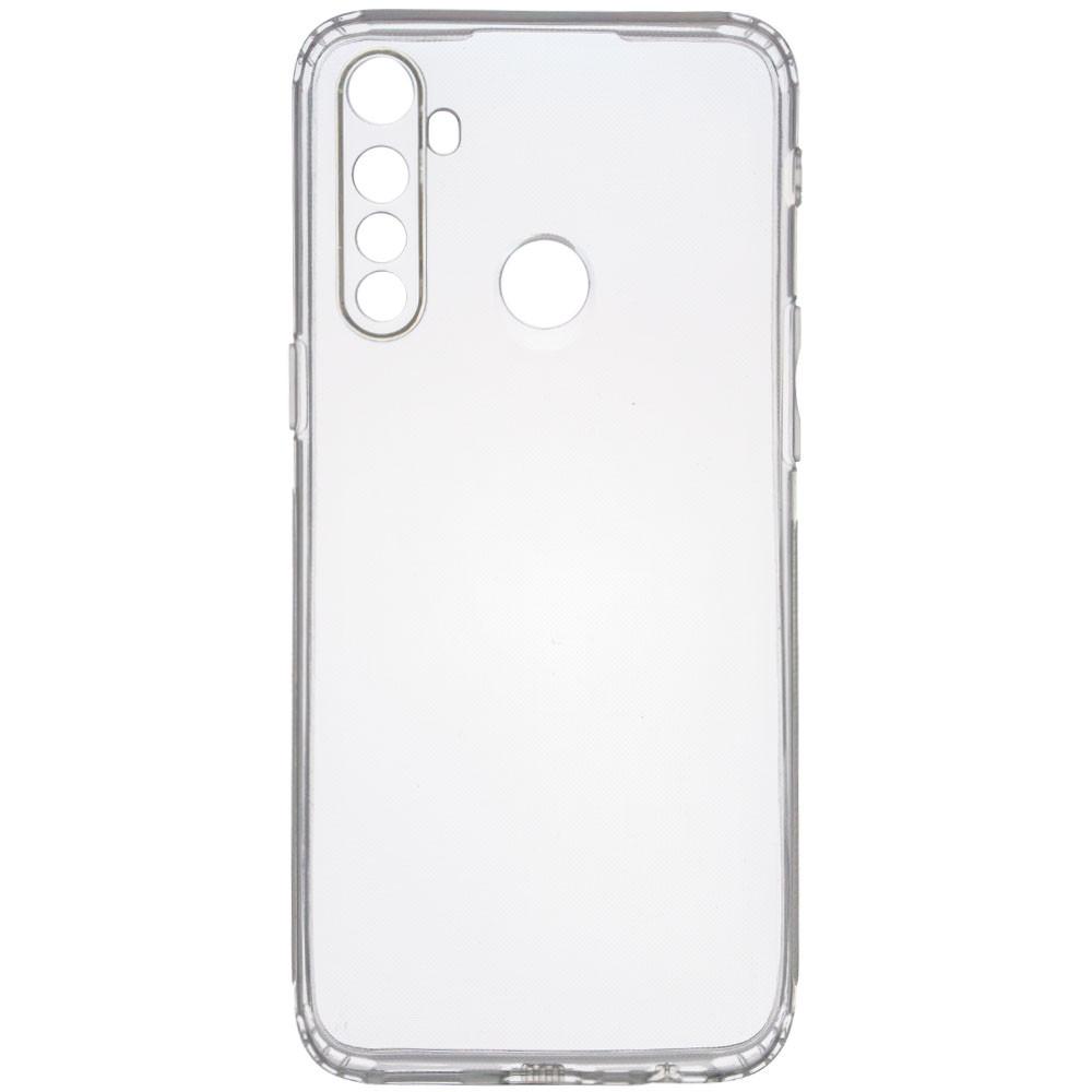 TPU чехол GETMAN Transparent 1,0 mm для Realme 5 / Realme 6i