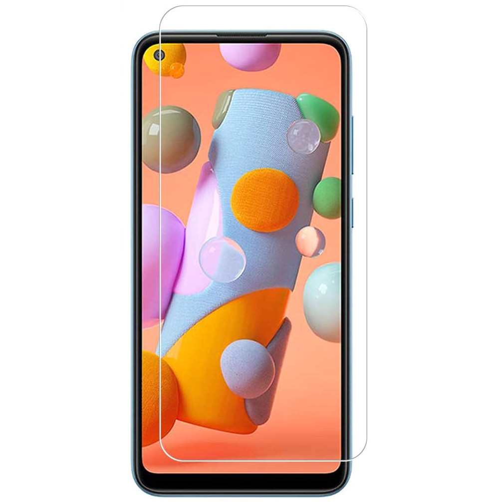 Защитная пленка SKLO 2.5D Nano (тех.пак) для Samsung Galaxy A21 / A21s