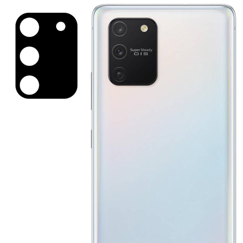 Гибкое защитное стекло 0.18mm на камеру (тех.пак) для Samsung Galaxy S10 Lite