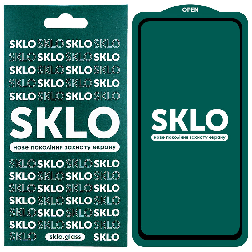 Защитное стекло SKLO 5D (full glue) для Xiaomi Redmi Note 9s / Note 9 Pro / Note 9 Pro Max