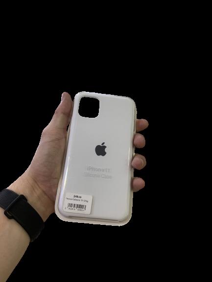Чехол-накладка S-case для Apple iPhone 11 Белый