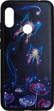 Накладка Xiaomi Mi A2 Lite/Redmi6 Pro Butterflies violet Night case, фото 2