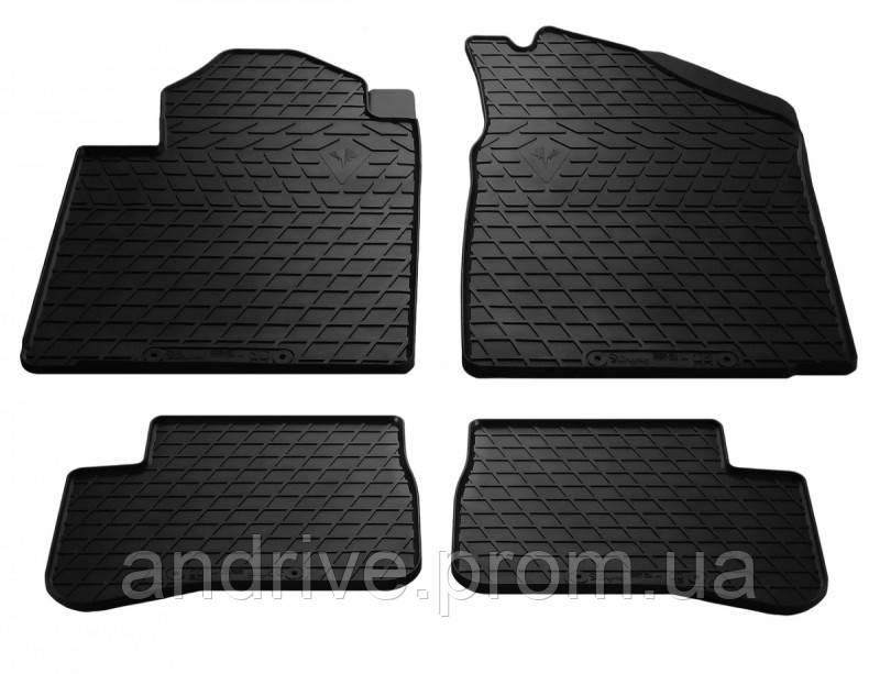 Резиновые коврики в салон Toyota Venza 2008+ Stingray
