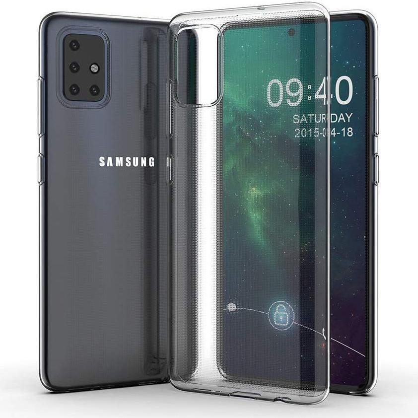 TPU чехол Epic Transparent 1,0mm для Samsung Galaxy A51