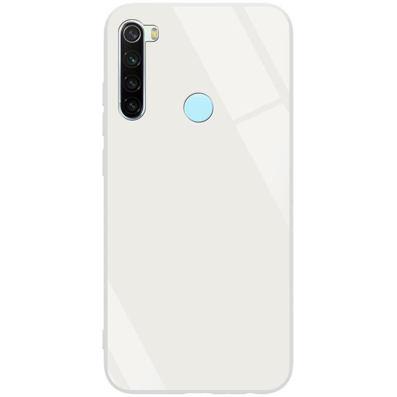 TPU+Glass чехол GLOSSY для Xiaomi Redmi Note 8