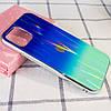"TPU+Glass чехол Gradient Aurora с лого для Apple iPhone 11 (6.1""), фото 2"