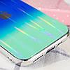 "TPU+Glass чехол Gradient Aurora с лого для Apple iPhone 11 (6.1""), фото 3"