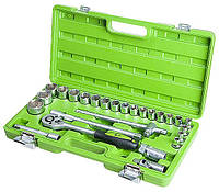 Набор инструментов 26 предметов, 1/2 дюйма, 6 граней, 8-32 мм, Alloid НГ-4026П