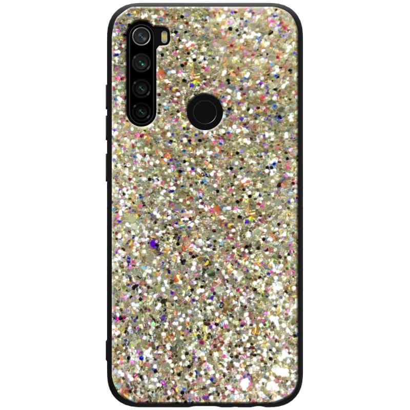 TPU чехол Glitter Crystal для Xiaomi Redmi Note 8