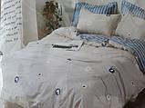 Комплект постельного белья из натурального , хлопка,  ( сатин)  220 х 200, фото 2