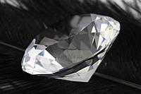 """Декоративный кристалл """"Ensete"""" для интерьера, прозрачный, диаметр 50мм, искусственые кристалы, кристалы для"""