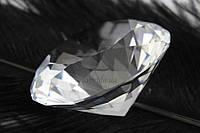 "Декоративный кристалл ""Fitzroya"" для интерьера, прозрачный, диаметр 60мм, искусственые кристалы, кристалы для"