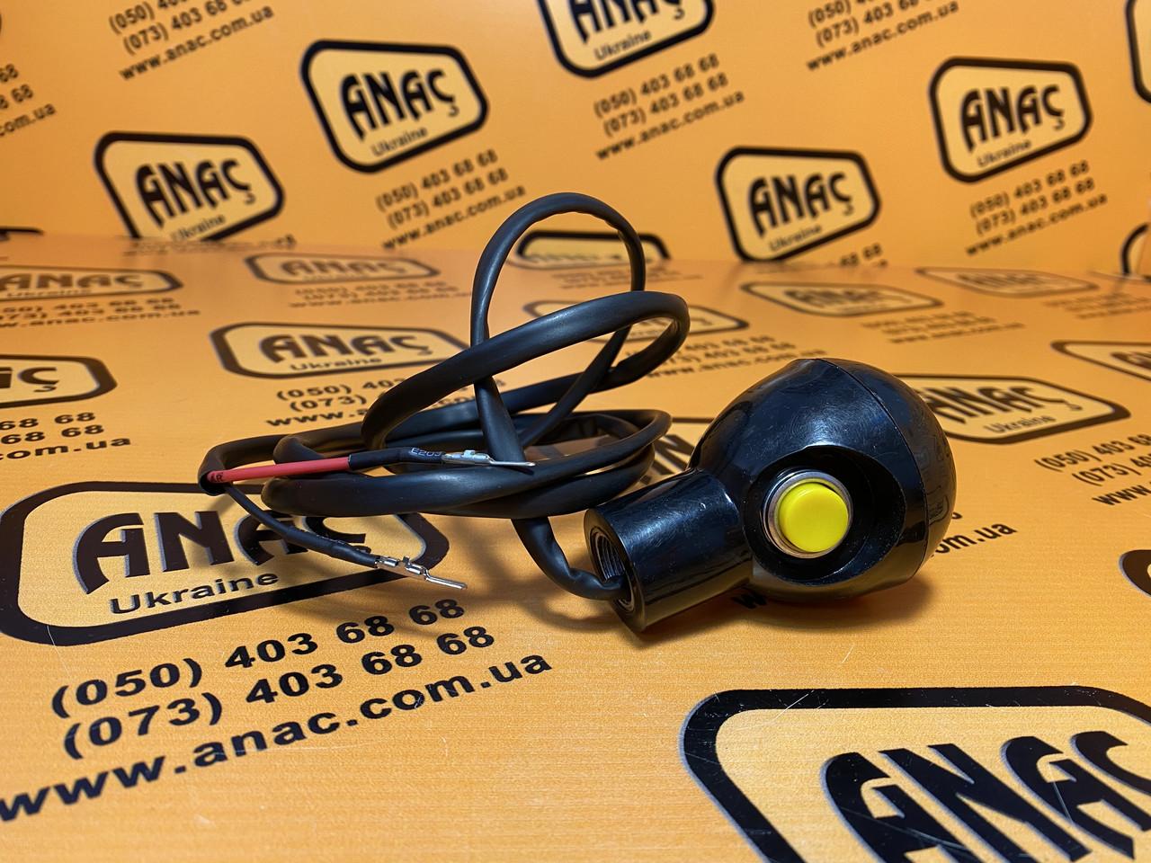 128/G6887, 128/13522 Ручка важеля управління чорна на JCB 3CX, 4CX