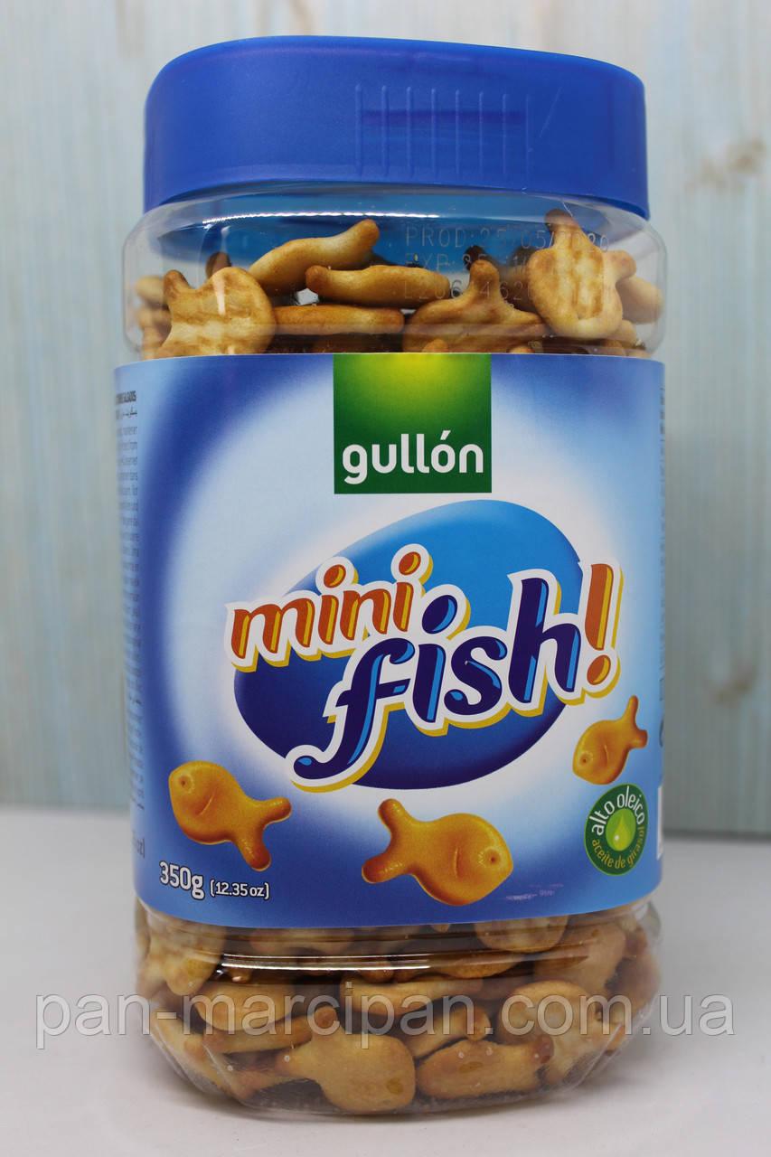 Печиво Gullon Mini Fish 350g Іспанія (банка)