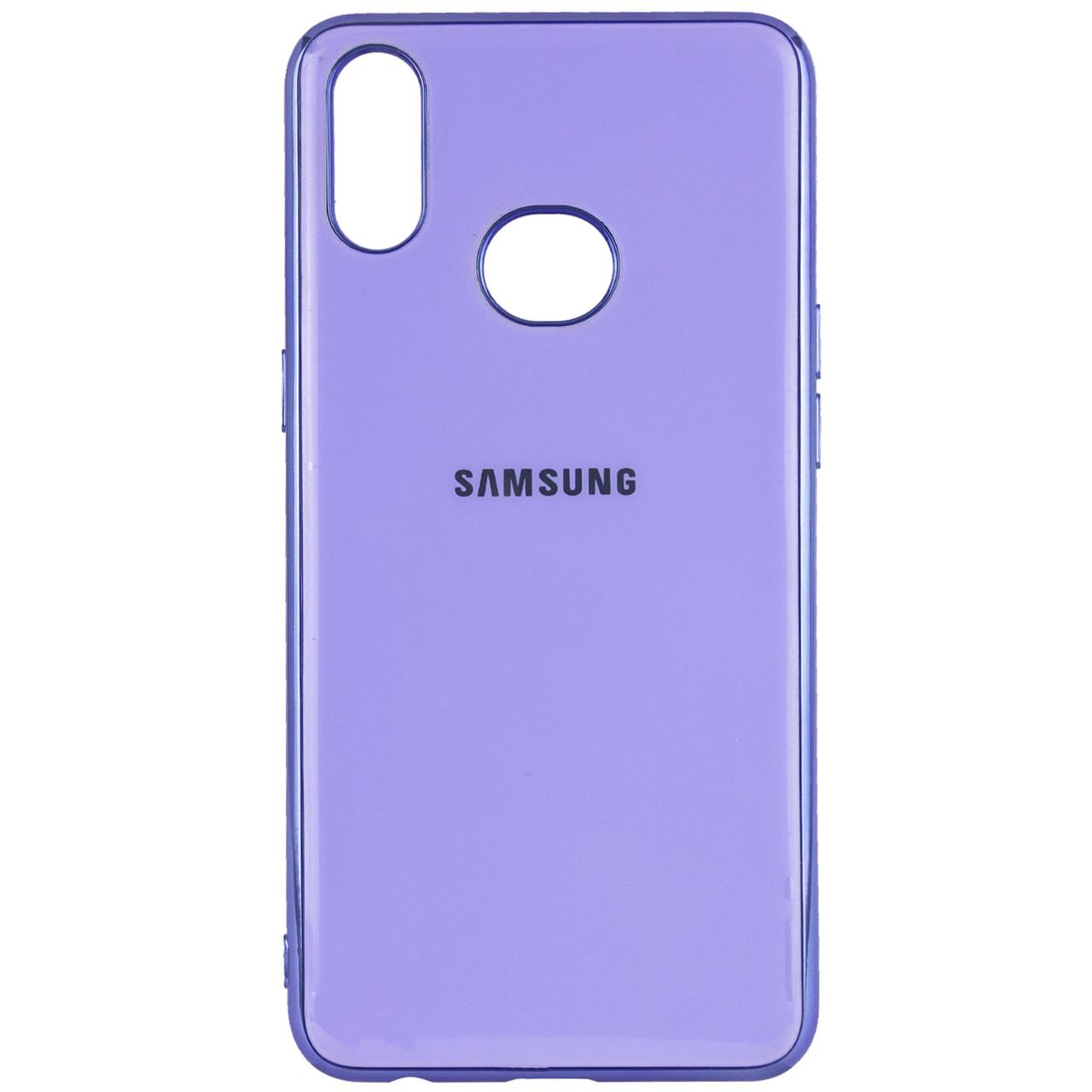 TPU чехол GLOSSY LOGO для Samsung Galaxy A10S