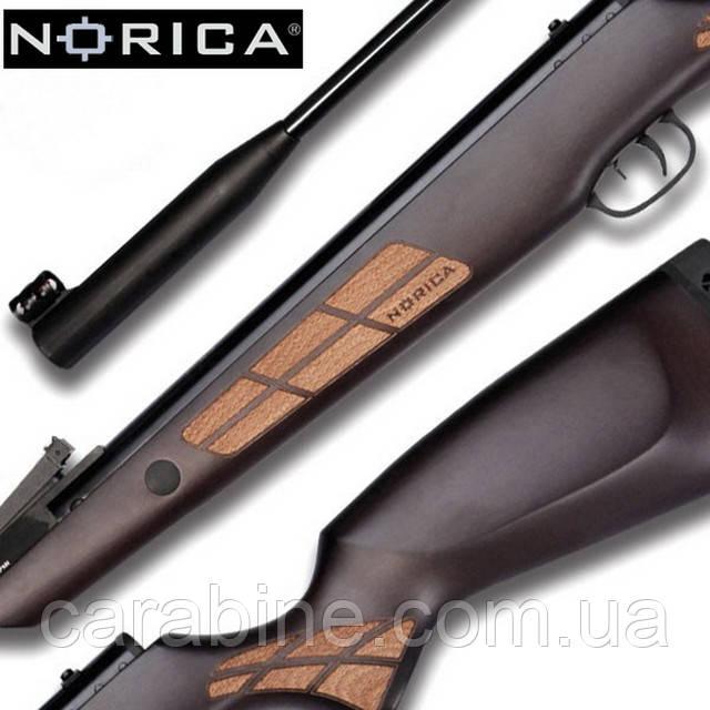 Стильная и мощная пневматическая винтовка Norica Black Eagle GRS