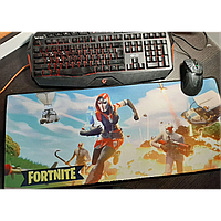 Коврик для компьютерной мыши Fortnite разноцветный, 70x30см, коврик для мыши, коврик компьютерный