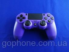 Беспроводной геймпад DoubleShock 4 (Фиолетовый), фото 3