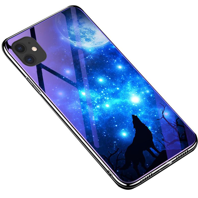 "TPU+Glass чехол Fantasy с глянцевыми торцами для Apple iPhone 11 Pro Max (6.5"")"