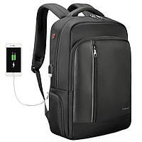"""Рюкзак для путешествий и города Tigernu T-B3668 15.6"""" USB для ноутбука, работы, учебы, поездок"""