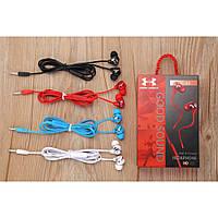 Наушники вакуумные JBL HS80 Spotr.Extra bass шнур 130 см, разные цвета, проводные наушники вакуумные, наушники затычки проводные
