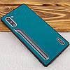 TPU чехол SHENGO Textile series для Samsung Galaxy Note 10, фото 2