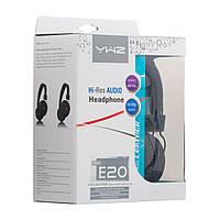 Полноразмерные проводные наушники Sonic Sound E20/Mic AA синие, 1,3м, 42дБ, Aux, наушники Sonic Sound E29/Mic