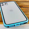 """Прозрачный TPU+PC чехол Epic с цветным бампером для Apple iPhone 11 Pro Max (6.5""""), фото 3"""