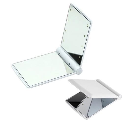 Мини-зеркало с подсветкой 8 Led(100)