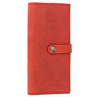 Кошелек женский кожаный большой Handycover HC0046 красный, фото 1