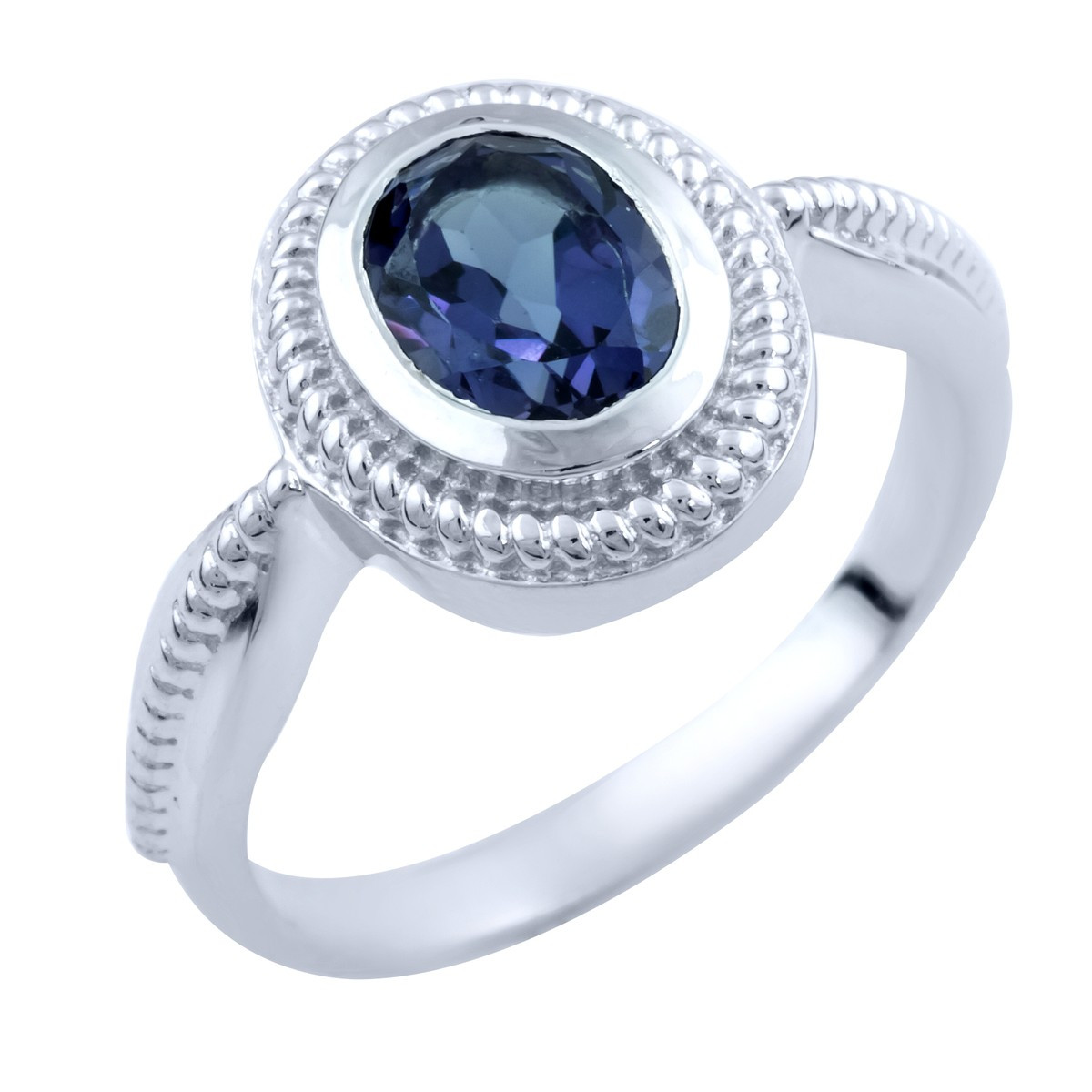 Серебряное кольцо DreamJewelry с олександритом (1765364) 17 размер