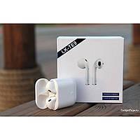 Беспроводные наушники Bluetooth 5.0 LK-TE9 TWS сенсорные, белый, беспроводные наушники, сенсорные наушники