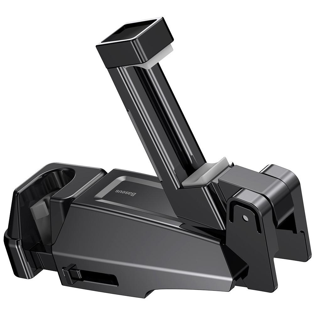 Автодержатель Baseus Backseat Vehicle Phone Hook, + крюк-вешалка