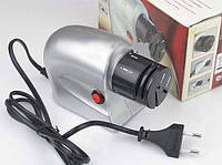 Электрическая точилка для ножей LuazON серая, 20Вт, от сети, точилка для ножей, точилка электрическая для