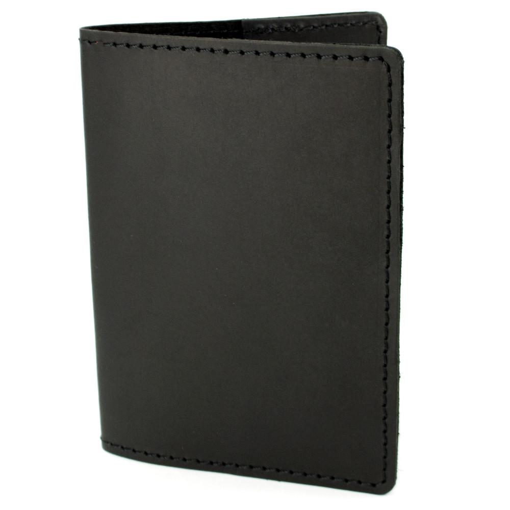 Обкладинка на паспорт шкіряна HandyCover HC0073 чорна