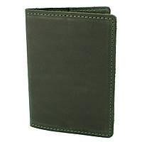 Обкладинка на паспорт шкіряна HandyCover HC0073 зелена
