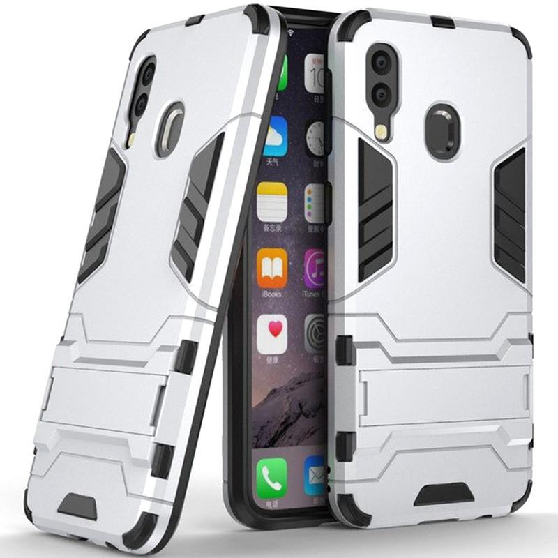 Ударопрочный чехол-подставка Transformer для Samsung Galaxy A40 (A405F) с мощной защитой корпуса
