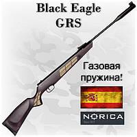 Пневматическая винтовка Norica Black Eagle GRS, газовая пружина, мощность и стиль